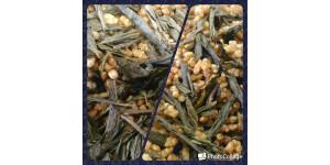 Japanese brown rice greentea 日本玄米茶